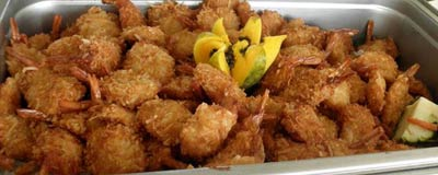Coconut Shrimp recipe from Chef CJ on Maui