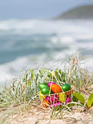 Celebrate Easter dinner on Maui on the beach.