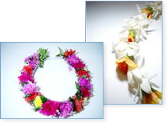 Haku lei Hawaiian Headress for weddings and other ceremony.