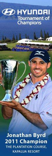 Kapalua Plantation Golf Course Hyundai Tournament of Champions 2012