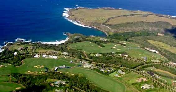Kapalua Resort is the home of the PGA Tour Hyundai Tournament of Champions Golf Tournament.