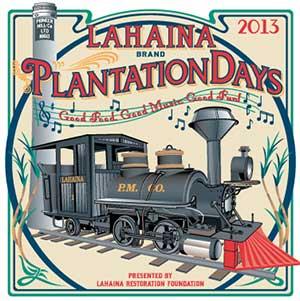 Lahaina Plantation Days logo commemorating the Sugar Cane train.