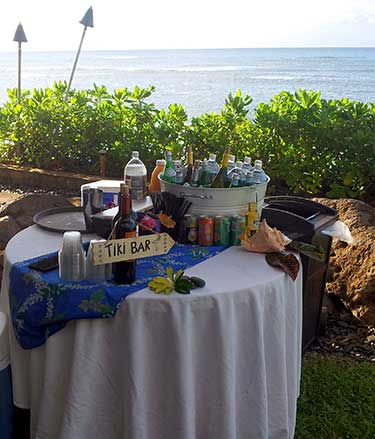 Maui bartending services in Lahaina.