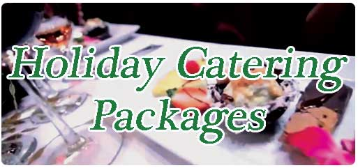 Inclusive catering packages for a holiday party on Maui.