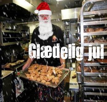 Maui Chef Christian Jorgensen says Glædelig jul, Danish for Merry Christmas