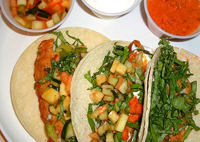 Chefs To Go Fish Tacos include everything you need for preparation in your Maui vacation rental.