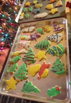 Maui homemade cookies for the Christmas season.