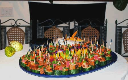 Maui event catering for corporate events and private functions on Maui.