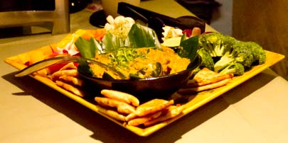 Image of Homemade Hummus with Pita Chips Recipe by Maui Chef Christian Jorgensen