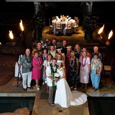 Maui catering for Maui weddings.