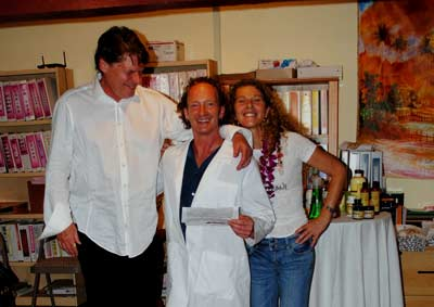 Corporate event catering executive team of Maui Noni Biotech.