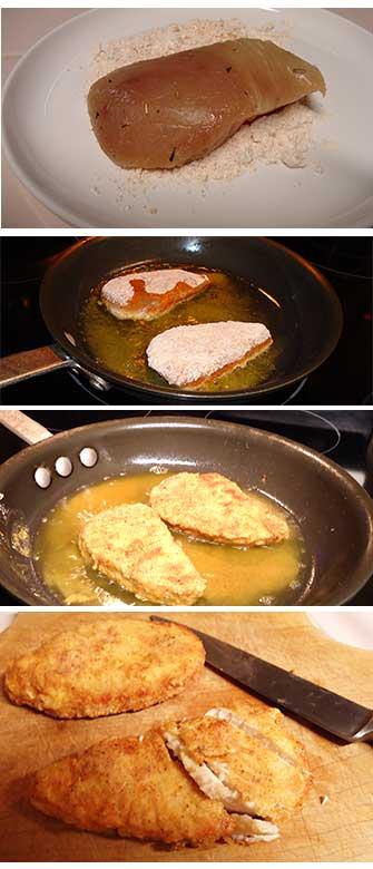 Preparation of Volcano Fish Tacos Recipe from Maui.