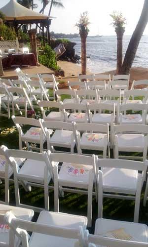 A Maui wedding location at the West Maui Lahaina White House.
